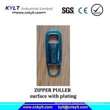 Zipper Puller with Plating